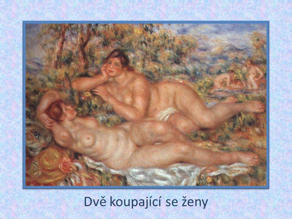 Dvě koupající se ženy