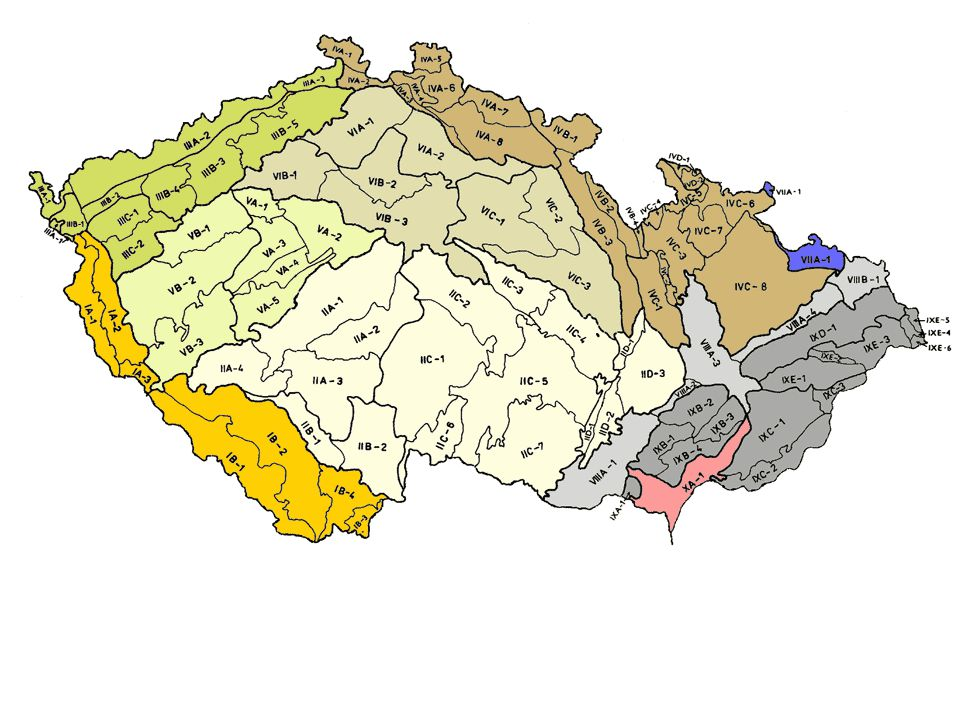 Krkonoše Nejvyšší české pohoří Sněžka 1602 m n. m.