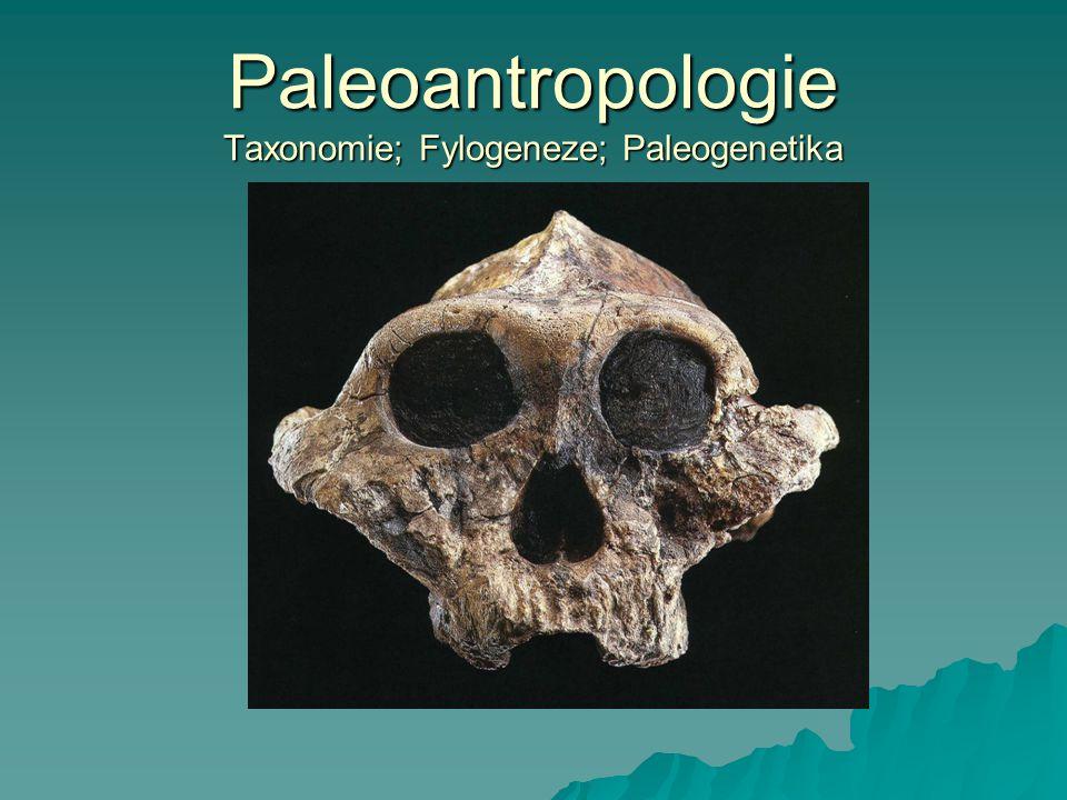 Mimořádně rychlý vývoj oboru: nové objevy v terénu; + nové analytické a morfometrické metody; - evoluční interpretace Učebnice - aktualizovaná vydání:  Conroy, G.C.: Reconstructing human origins.