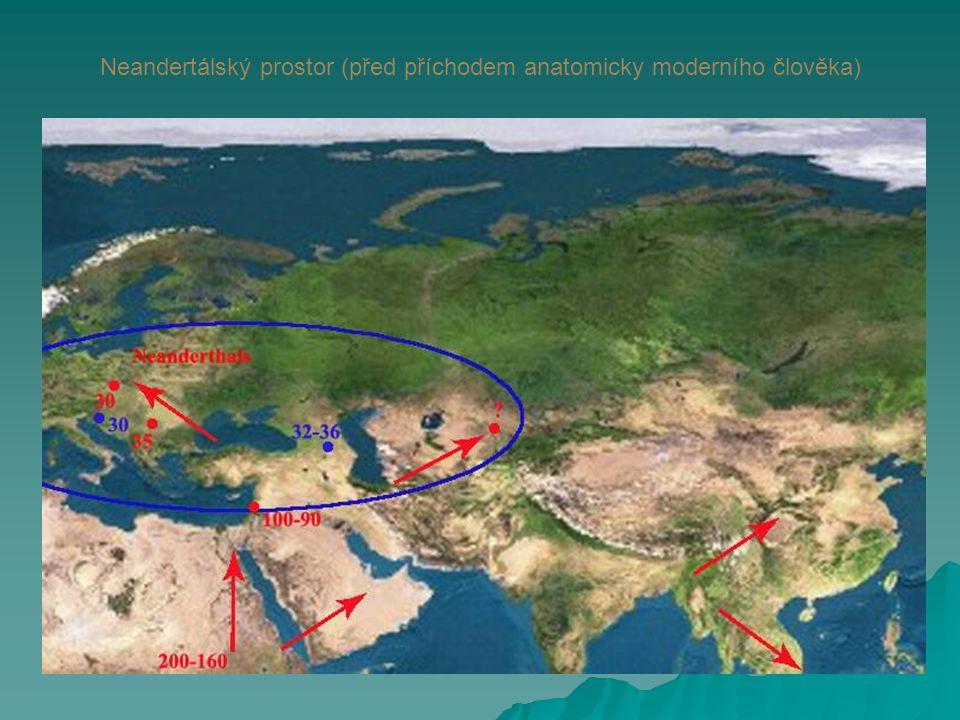 Neandertálský prostor (před příchodem anatomicky moderního člověka)