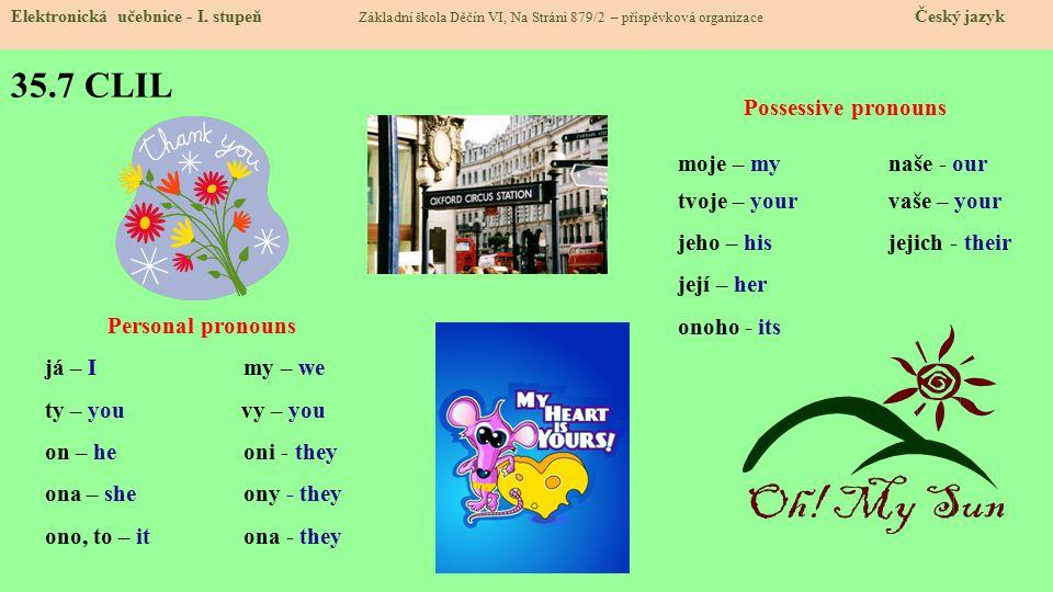 35.7 CLIL Elektronická učebnice - I.