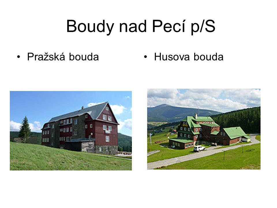 Boudy nad Pecí p/S Pražská boudaHusova bouda