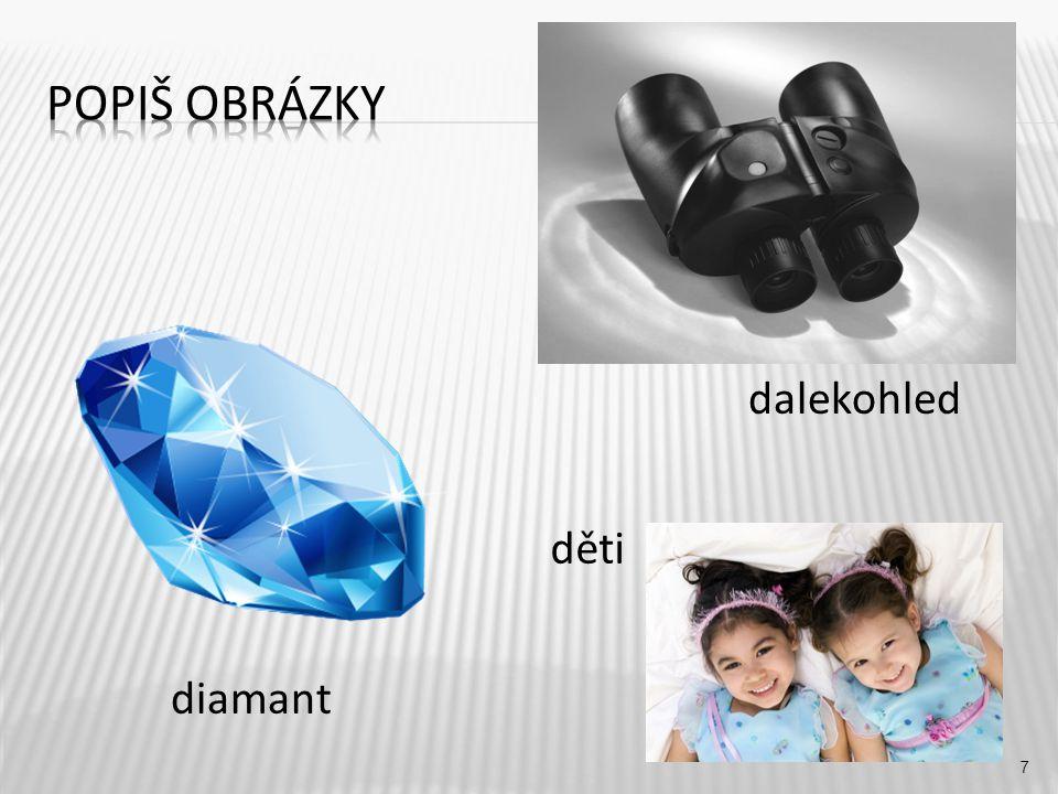 dalekohled 7 diamant děti