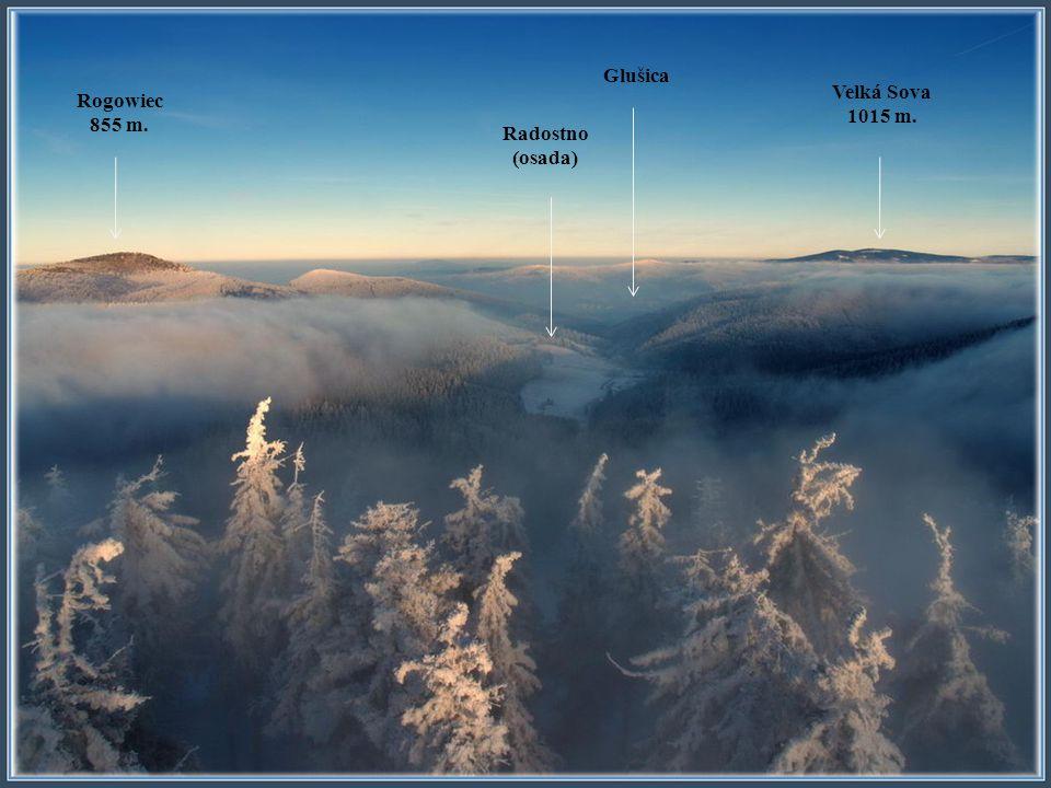 Valigora 934 m. Suchawa 928 m. Wloslowa 902 m.