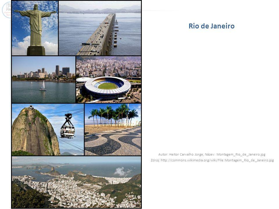Rio de Janeiro - centrum Autor: LecomteB, Název: Rio_Corcovado_Pain_de_Sucre.jpg Zdroj: http://commons.wikimedia.org/wiki/File:Rio_Corcovado_Pain_de_Sucre.jpg