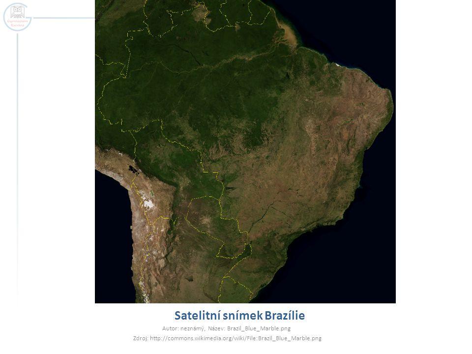 Politický systém Federativní republika  Nezávislost na Portugalsku 1822 (brazilské císařství)  Republika od roku 1889  Tvořená 26 spolkovými státy a federálním distriktem Autor: Felipe Menegas, Název: Brazil_Labelled_Map.sv Zdroj: http://commons.wikimedia.org/wiki/File:Brazil_Labelled_Map.svg
