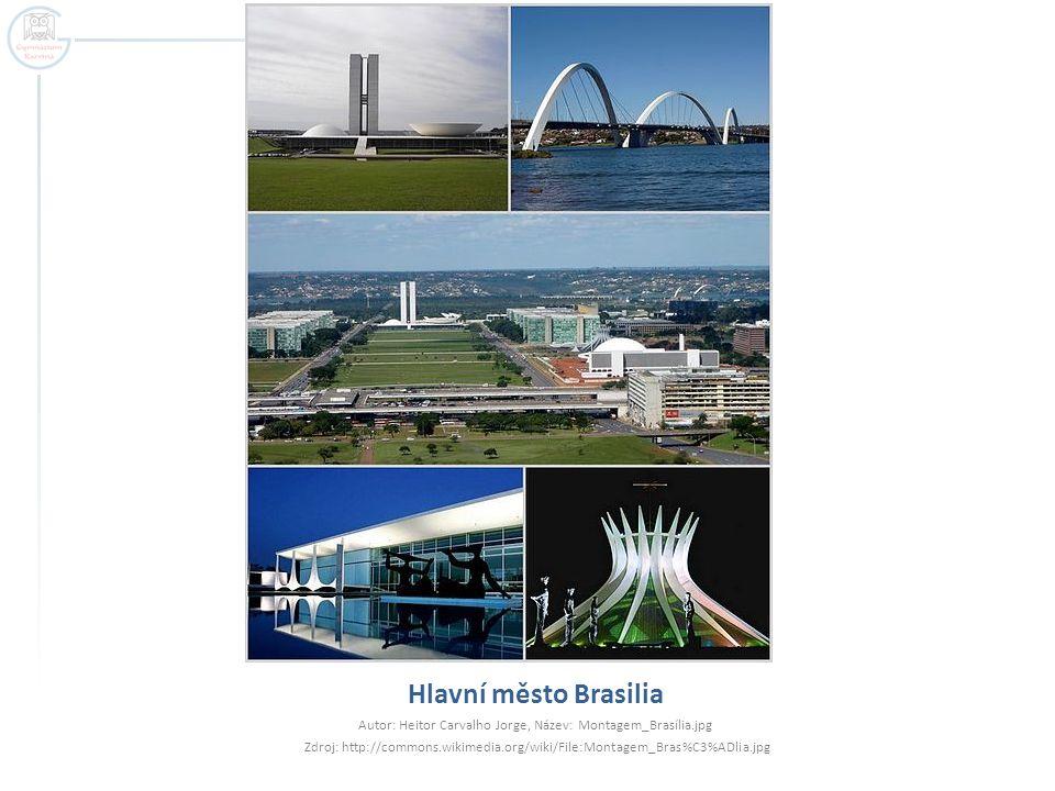 Nejvýznamnější sídla  Brasilia – hlavní město  2 mil.