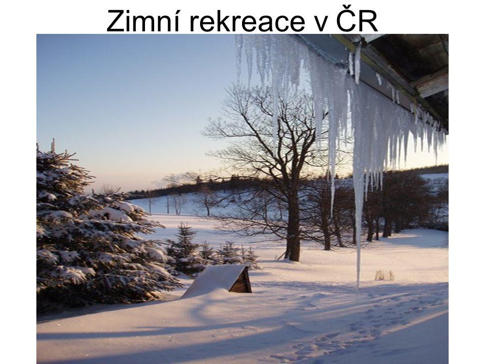 Zimní rekreace v ČR