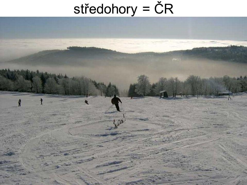 činnosti – spíše turistické pojetí, závodní omezeně sjezdové lyžování, běžecké lyžování k + b, snowboard, skiboby, biatlon, skoky, saně, boby, psí spřežení, akrobacie, sněžnice, pěší turistika ojediněle – skialpinismus, horská turistika, freeride, skicross, ledovcové lezení .