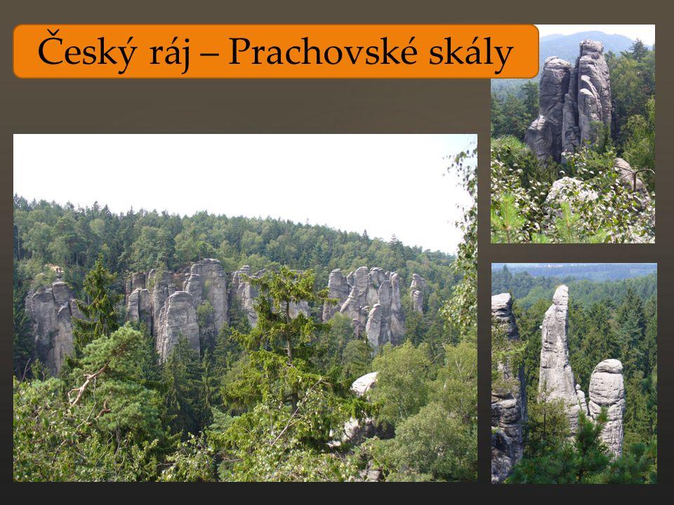 Český ráj – Prachovské skály
