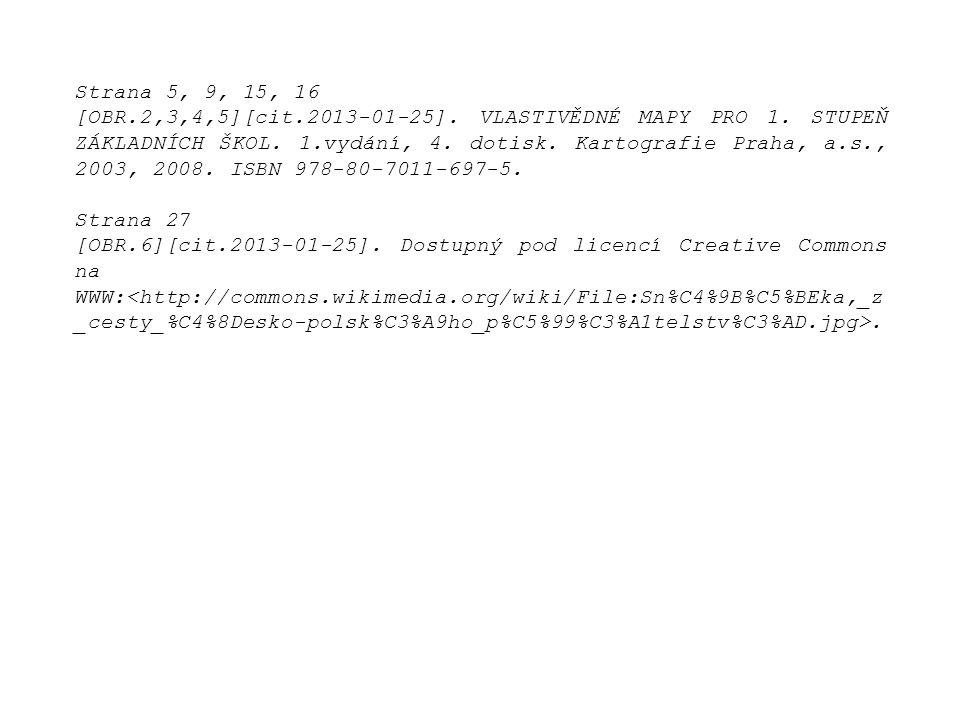 Strana 5, 9, 15, 16 [OBR.2,3,4,5][cit.2013-01-25].