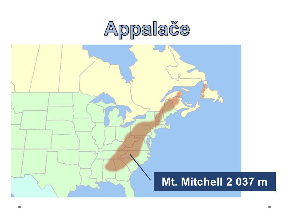 Mt. Mitchell 2 037 m