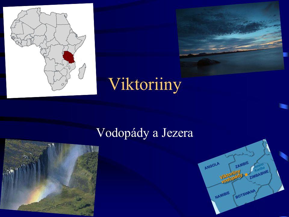 Viktoriiny Vodopády a Jezera