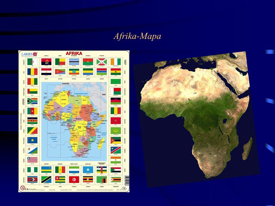 Afrika-Mapa