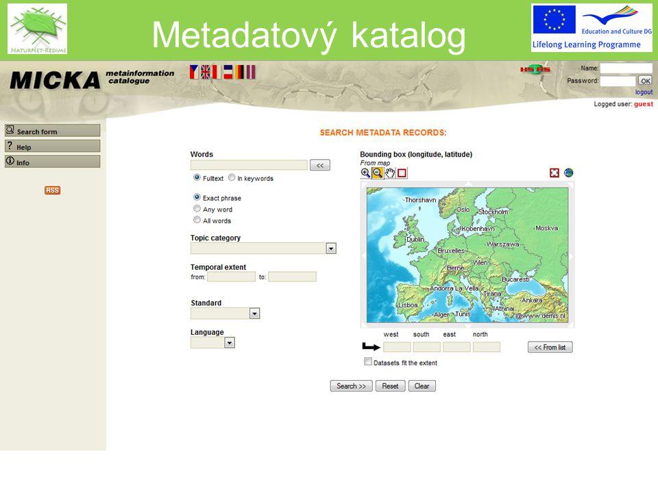 Metadatový katalog