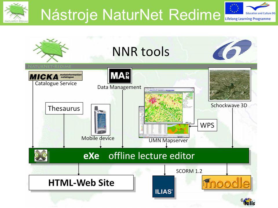 Nástroje NaturNet Redime