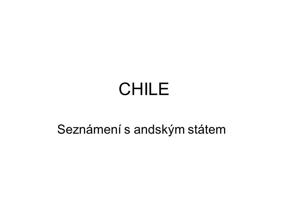 CHILE Seznámení s andským státem