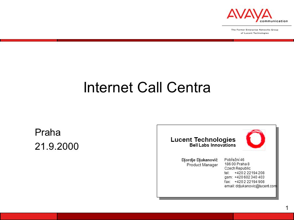 22 VoIP Call Flow Zákazník > Agent Agent komunikuje se zákazníkem ze svého telefonního přístroje.
