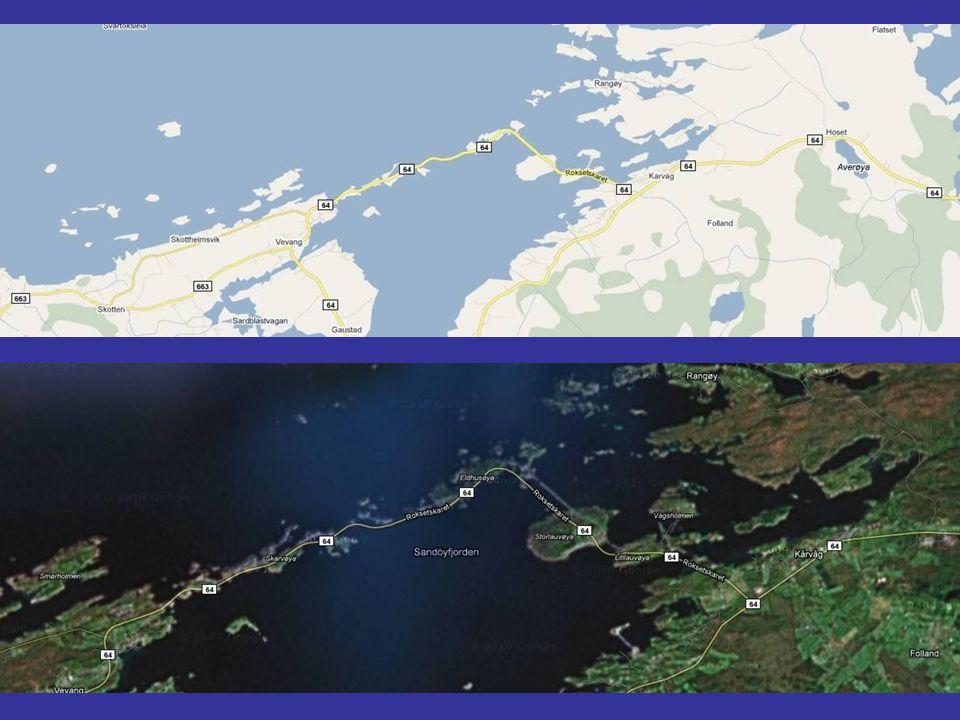 Od roku 2009 Atlantická cesta pokračuje od Averøy do Kristiansund do mýtného tunelu Atlanterhavstunnelen (tj.