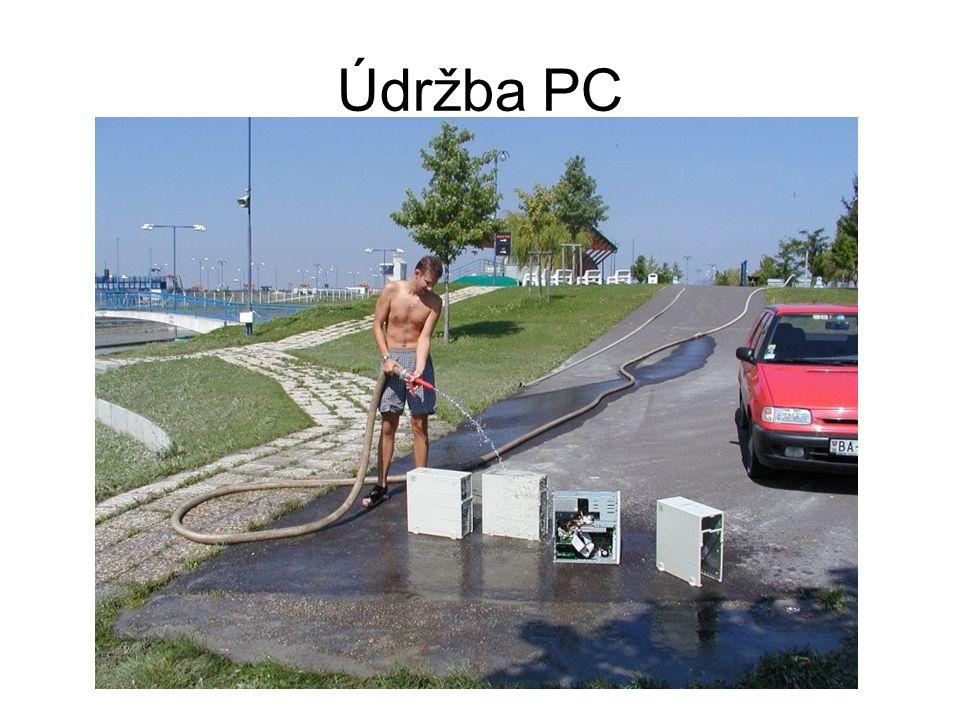 Údržba PC