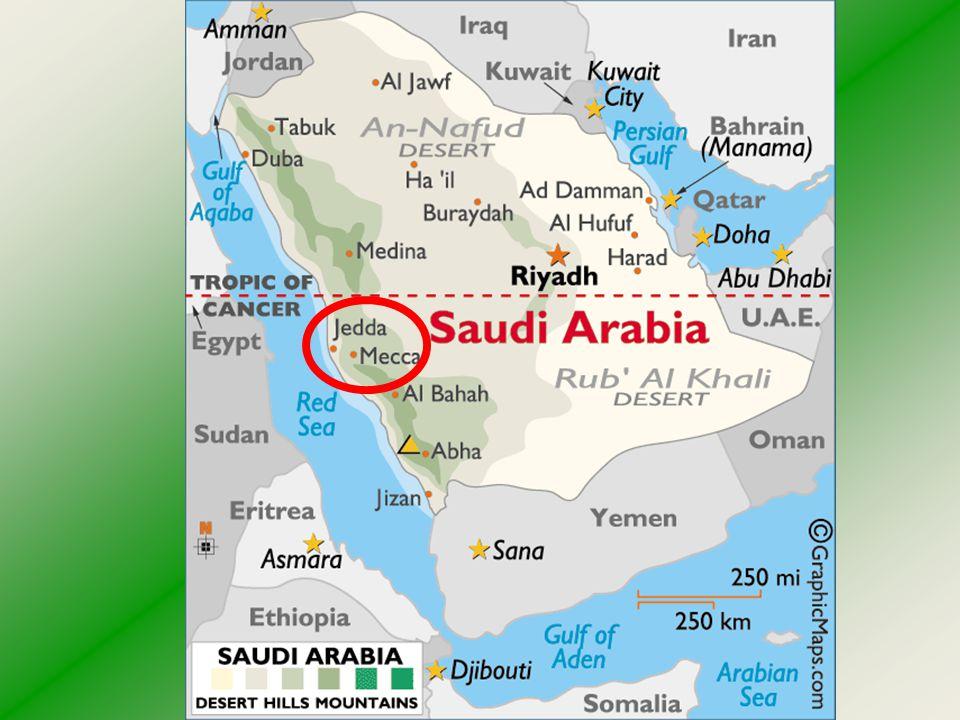 Djidda - Jeddah je důležité město v Saúdské Arábii na pobřeží Rudého moře.