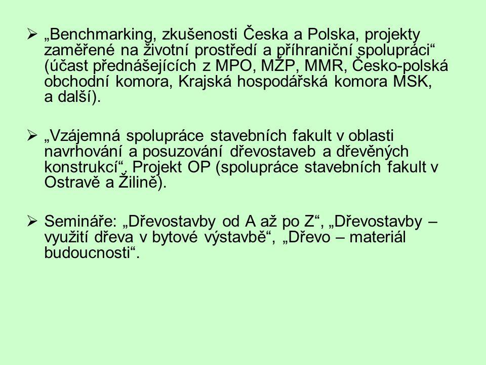 """ Projekt """"Výzkum ploch pro rezidenční funkce v kontextu ekonomického rozvoje Moravskoslezského kraje  Pilotní projekt Leonardo da Vinci – LEPOB - """"Lifelong Educational Project on Brownfields Projekt """"LEPOB ."""