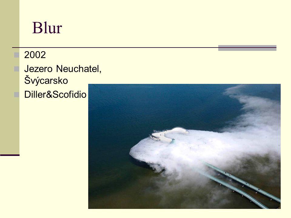 2002 Jezero Neuchatel, Švýcarsko Diller&Scofidio