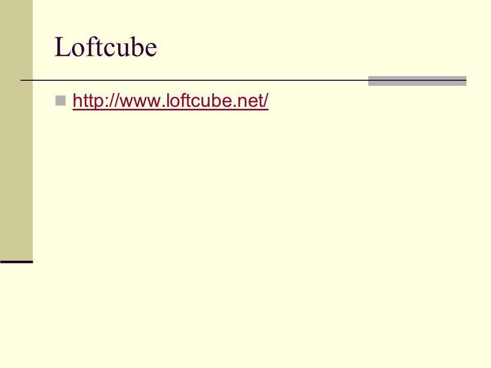 Loftcube http://www.loftcube.net/