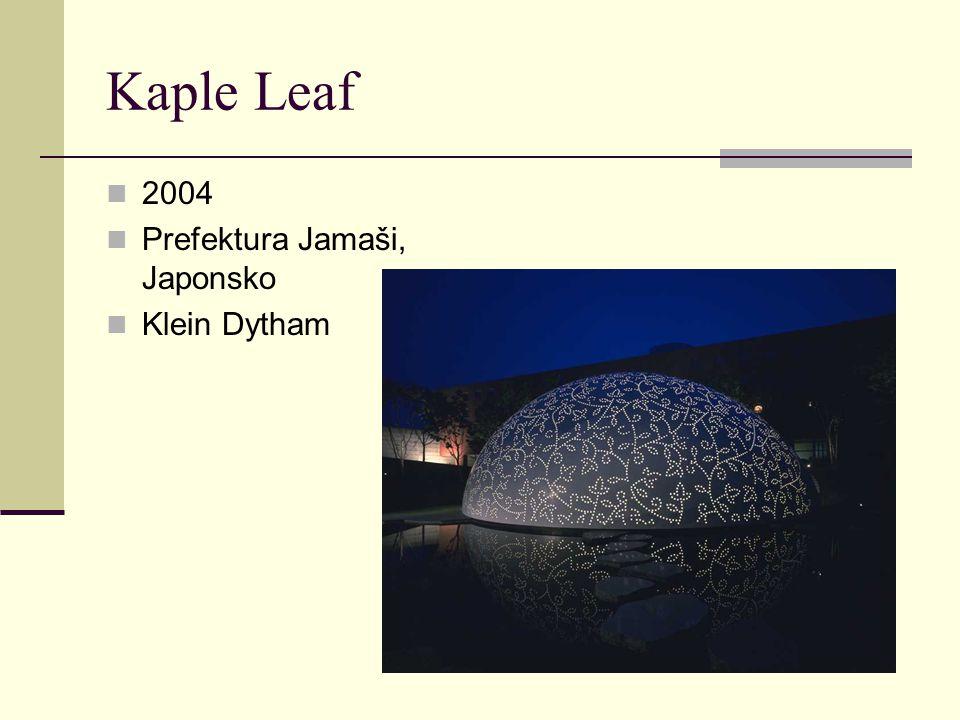 2004 Prefektura Jamaši, Japonsko Klein Dytham
