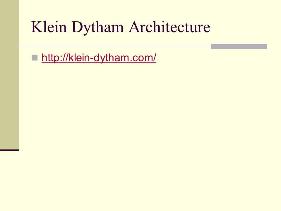 Klein Dytham Architecture http://klein-dytham.com/