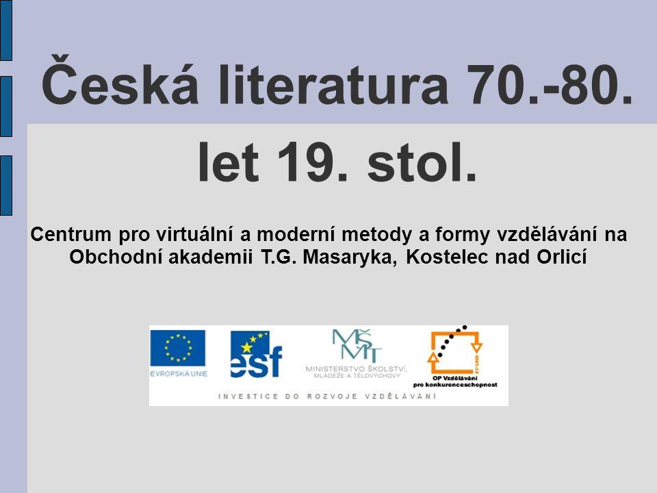 kromě Sládka do něj přispívali Jaroslav Vrchlický, Julius Zeyer a další lumírovci se zaměřovali na cizí literatury a překladatelskou činnost, snažili se obohatit českou literaturu o nová témata i básnické formy, chtěli zapojit českou lit.