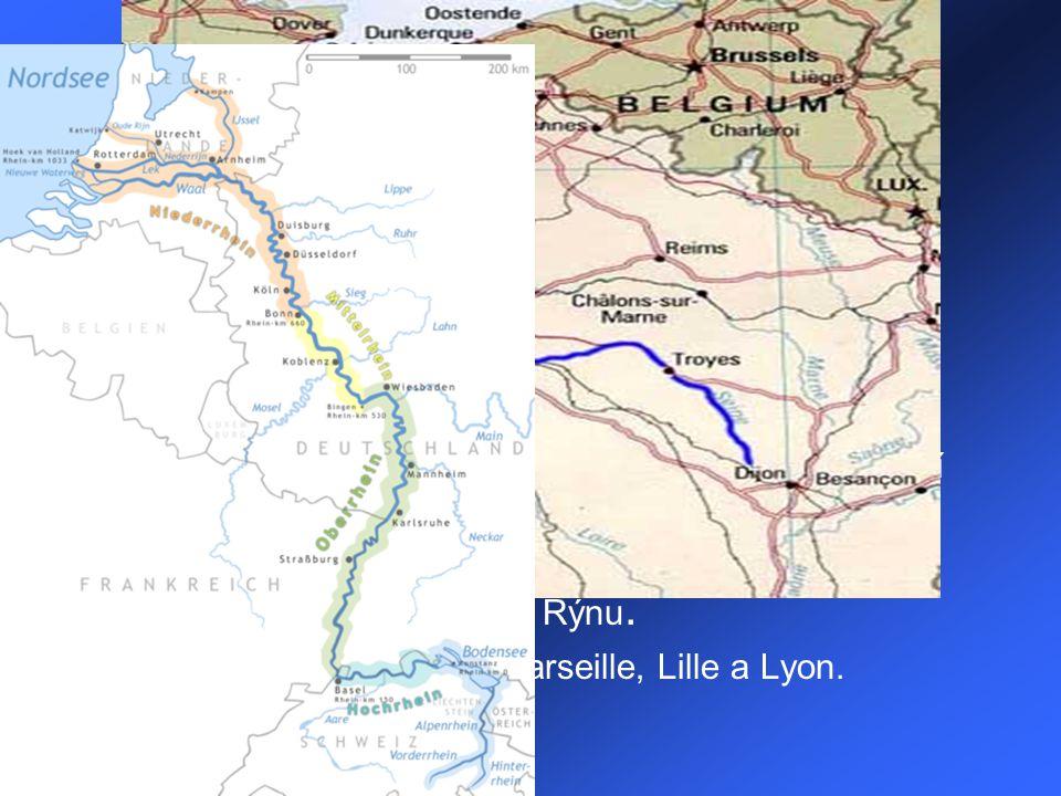 Geografie Pevninská část Francie zaujímá plochu 543 965 km². Na severu a západě je krajina rovinatá s mírným vlněním, na zbytku území převážně pahorka