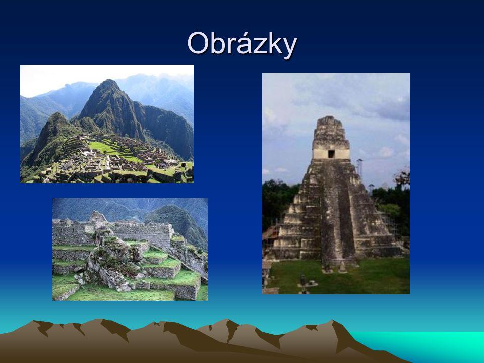 K zapamatování nachází se v Peru ležící na západu Jižní Ameriky je 400m nad řekou Urubamba nadmořská výška 2,5km objeveny roku 1911 postavil je Pachacútec Yupanqui v polovině 15.