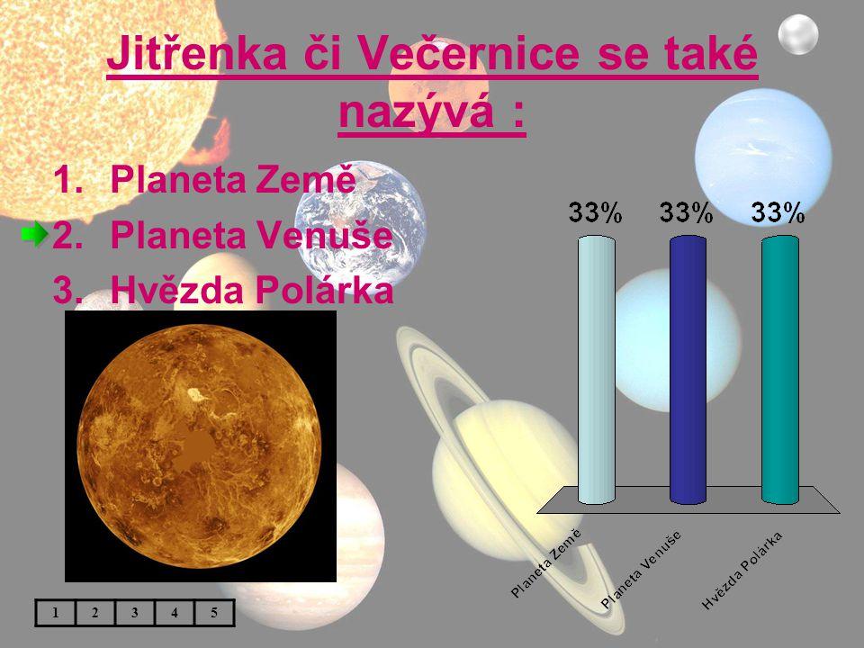 V dávných bájích byla Venuše : 1.Bohyně štěstí 2.Bohyně lásky 3.Bohyně mateřství 12345