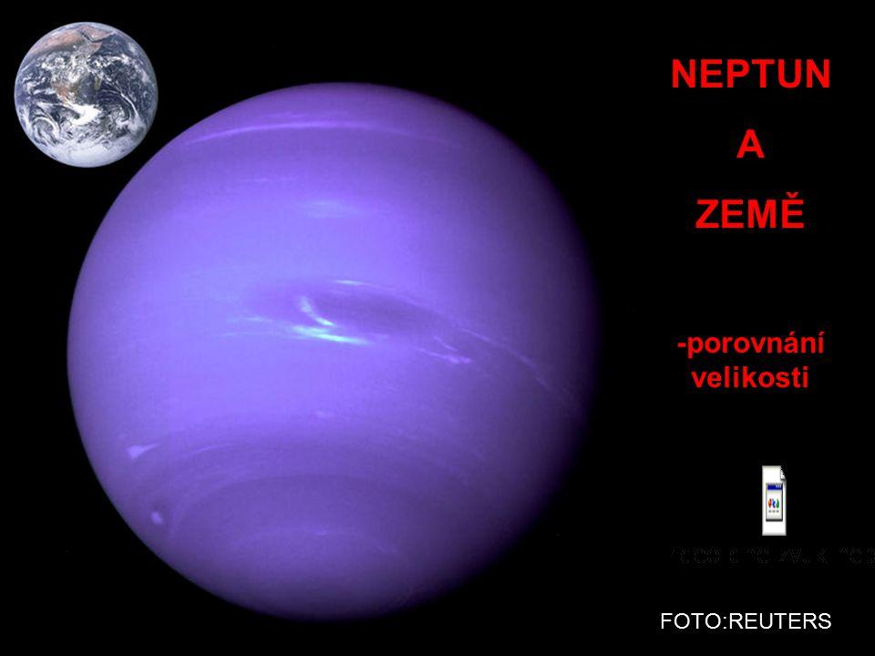 Planeta NEPTUN -teplota – 220 °C -poloměr 24 300 km -rok : 165 let -den : asi 16 h - 8 měsíců