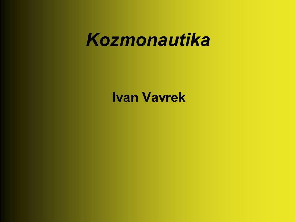 Kozmonautika Ivan Vavrek