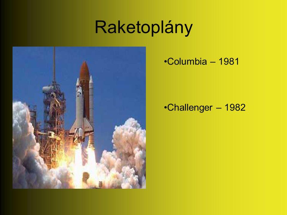 Raketoplány Columbia – 1981 Challenger – 1982