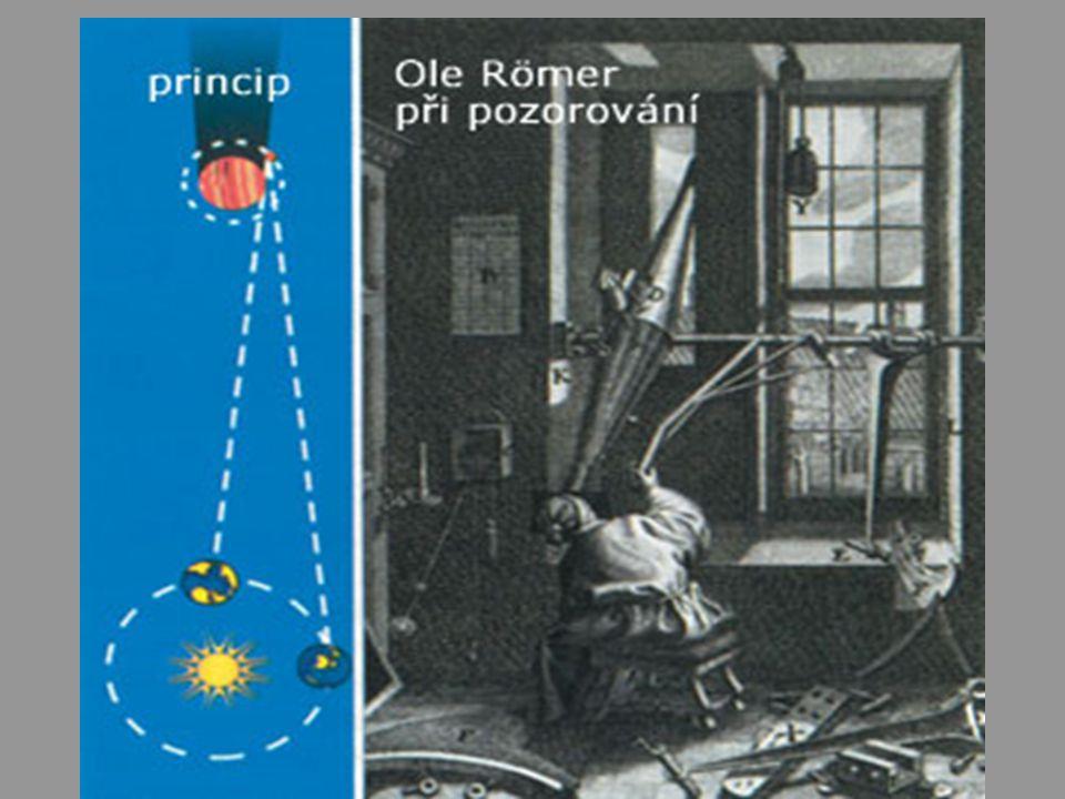ad1) Další experimenty l 1849 Armand Fizeau francouzský astronom první úspěšné určení rychlosti světla na základě pozemského měření Ozubené kolo rozdělilo světlo na drobné impulzy.