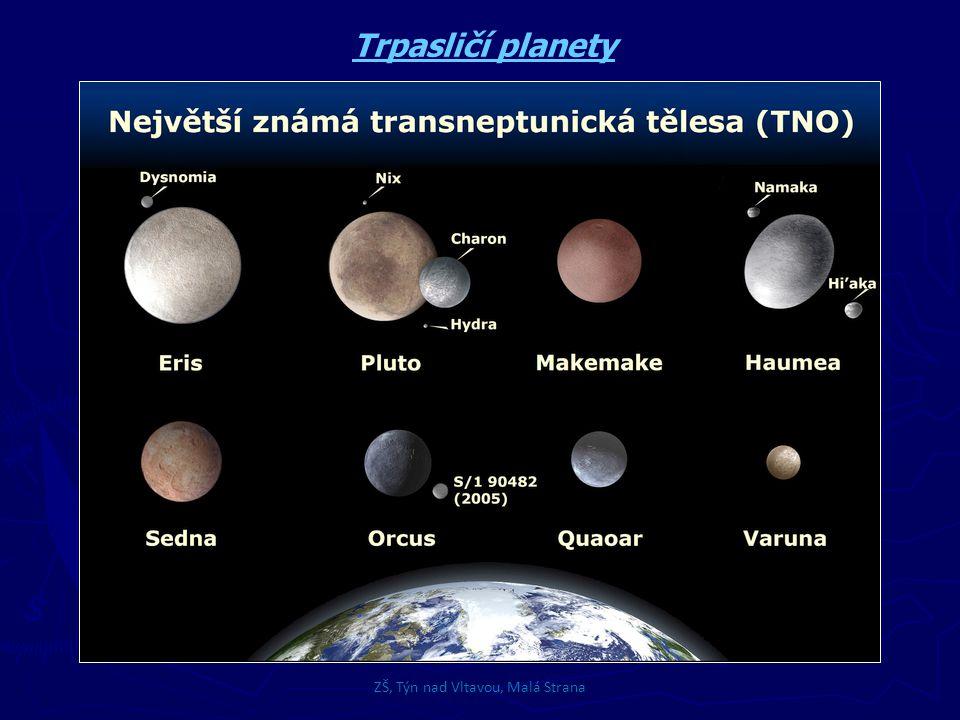 ZŠ, Týn nad Vltavou, Malá Strana Meteory a meteority