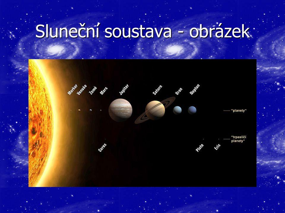 Sluneční soustava - obrázek