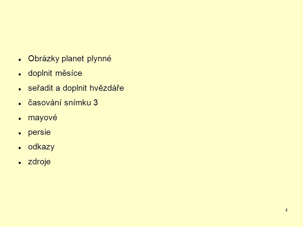 25 Podzimní souhvězdí