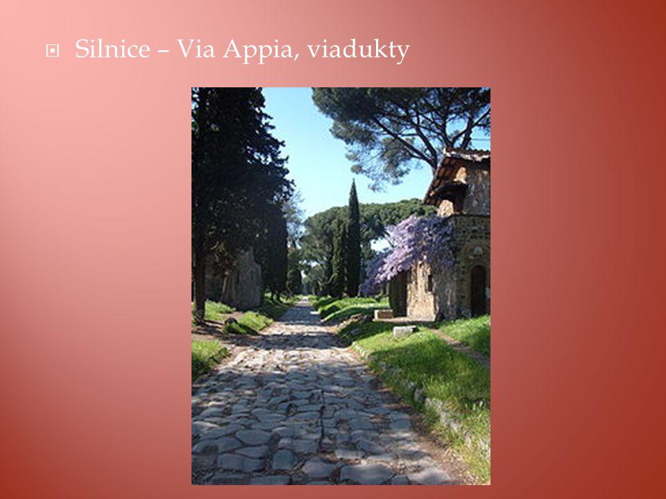  Silnice – Via Appia, viadukty