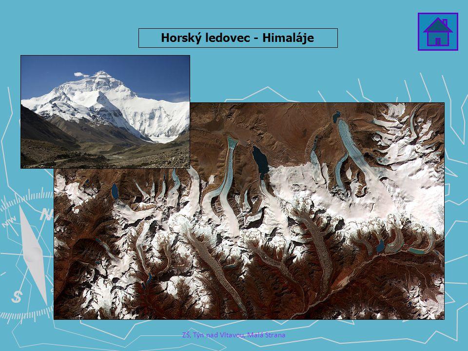 Horský ledovec - Himaláje