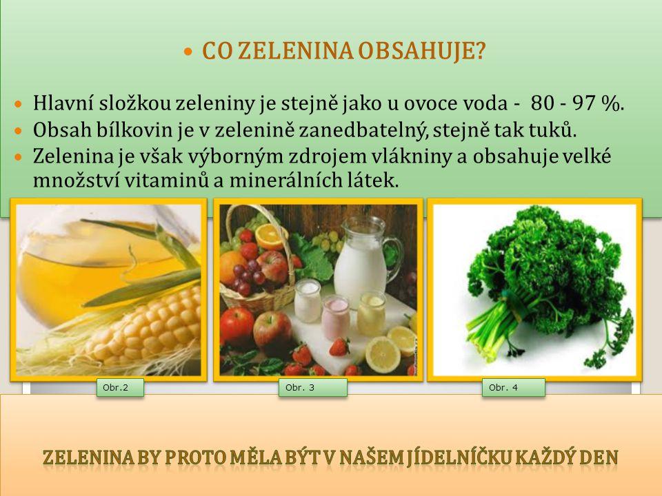Druhy zeleniny: DRUHY ZELENINY kořenová - mrkev, petržel, ředkev, celer, křen, - brambory /hlízy/ - kořenová zelenina obsahuje sacharidy, a proto dodává více energie, nemá ale tolik vitaminu C, jako např.