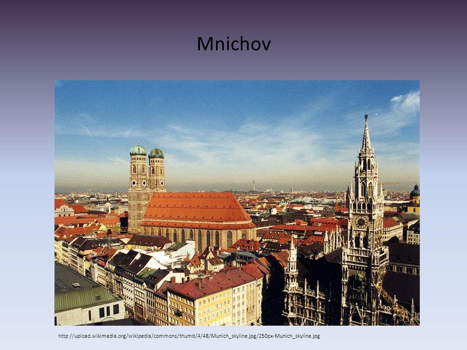Mnichov http://upload.wikimedia.org/wikipedia/commons/thumb/4/48/Munich_skyline.jpg/250px-Munich_skyline.jpg