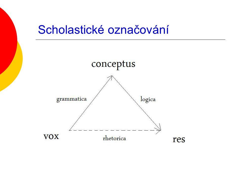 Diferenční chápání znaku  Teprve uvnitř znakové soustavy zjistím, jakou nabývá znak hodnotu.
