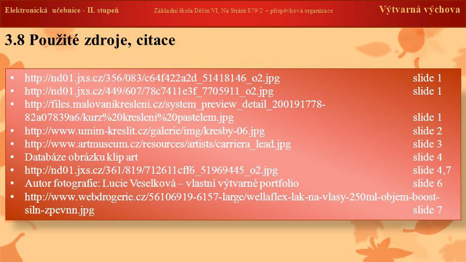 3.9 Anotace Elektronická učebnice - II.