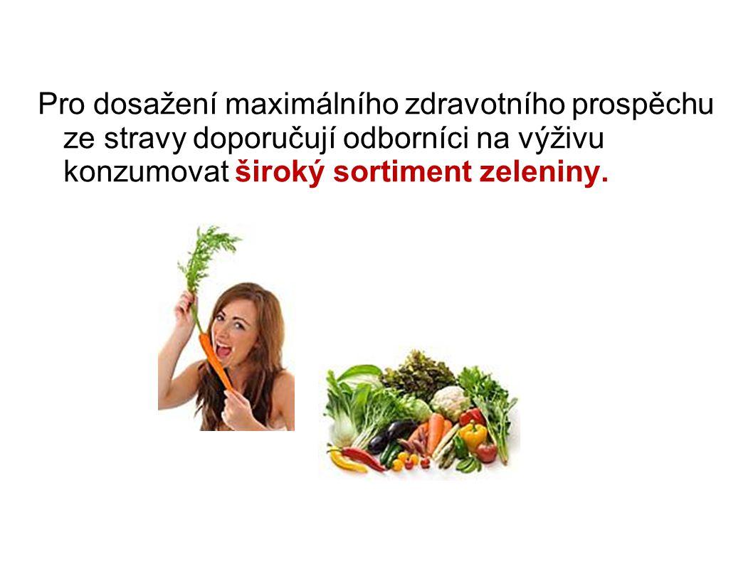 """3 triky pro zvýšení konzumace zeleniny 1.Mějte zeleninu """"na očích ."""