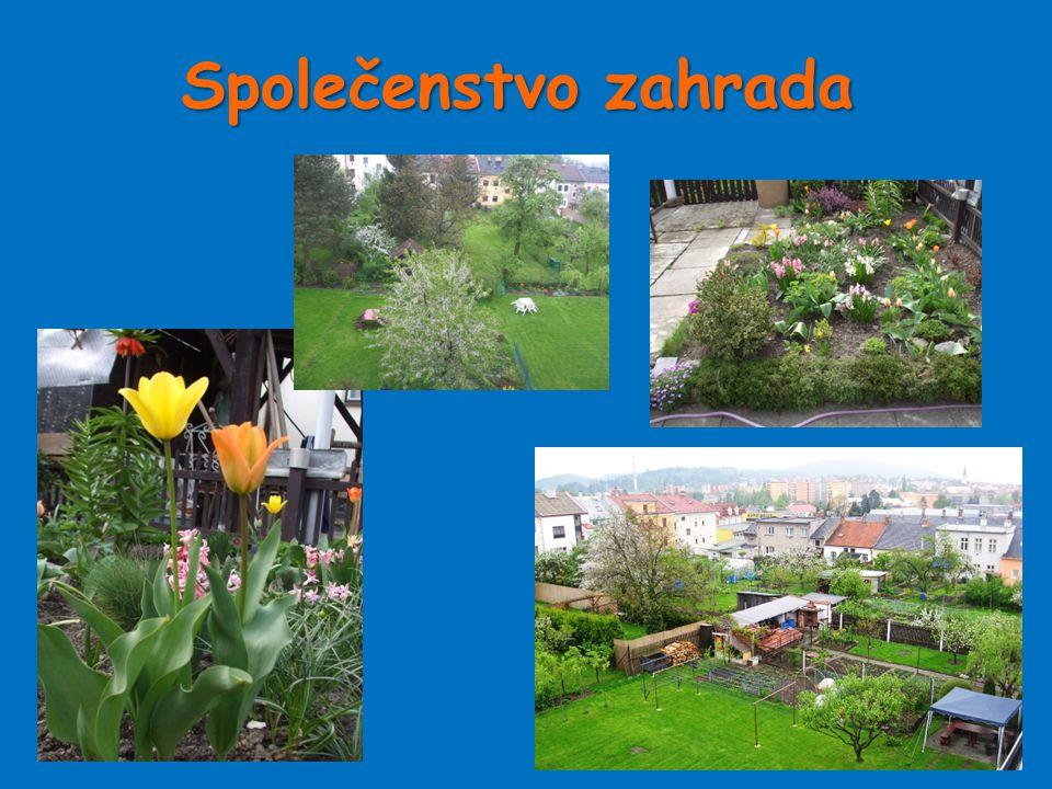 Společenstvozahrada Společenstvo zahrada
