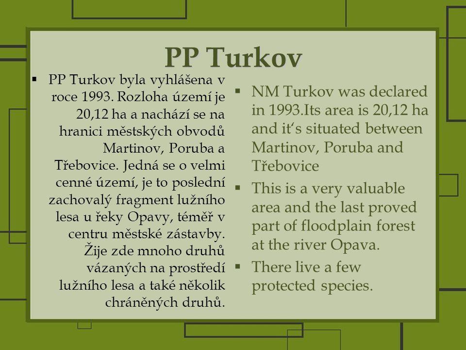 PP Turkov  PP Turkov byla vyhlášena v roce 1993.